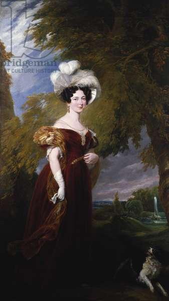 Victoria, Duchess of Kent, 1835 (oil on canvas)