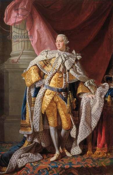 George III, 1761-62 (oil on canvas)