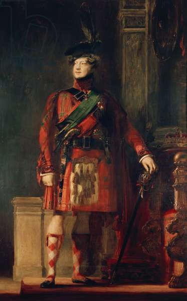 George IV, 1829 (oil on canvas)