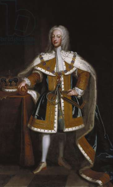George II, c.1730 (oil on canvas)