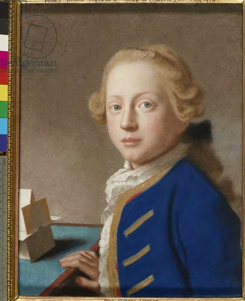 Henry Frederick, Duke of Cumberland, 1754 (pastel on vellum)