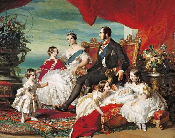 The Royal Family in 1846 (oil on canvas)