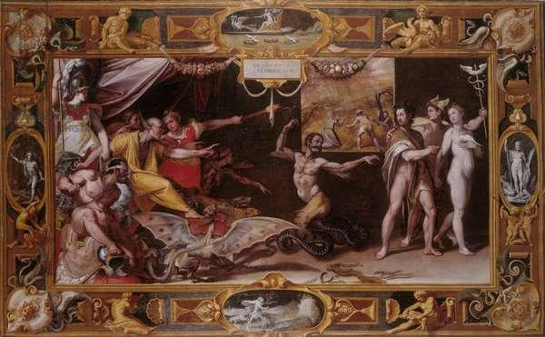 Calumny, c.1569-72 (oil on canvas)