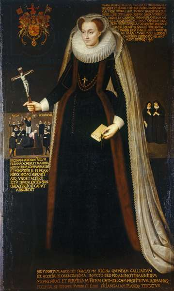 Mary, Queen of Scots, c.1610-40 (oil on canvas)