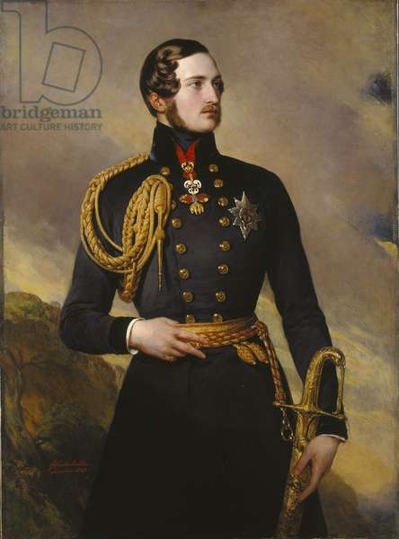 Prince Albert, 1842 (oil on canvas)