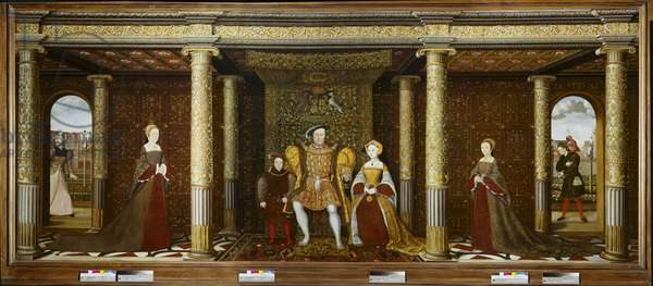 The Family of Henry VIII, c.1545 (oil on canvas)