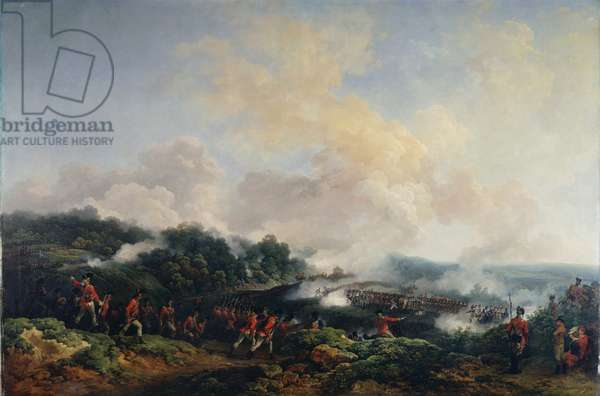 Warley Camp: The Mock Attack, 1779 (oil on canvas)
