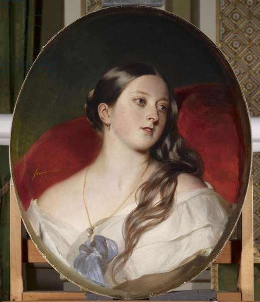 Queen Victoria, 1843 (oil on canvas)