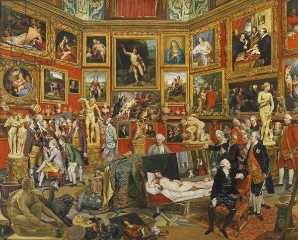 The Tribuna of the Uffizi, 1772-77 (oil on canvas)