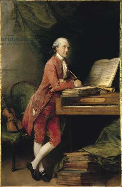 Johann Christian Fischer, c.1774 (oil on canvas)