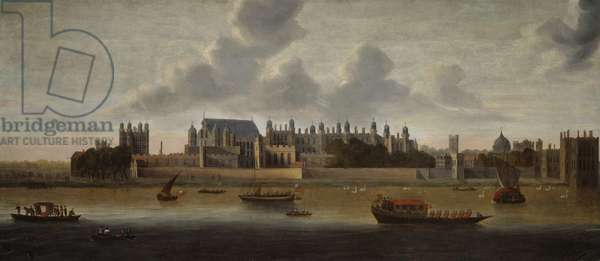 Hampton Court Palace, c.1640 (oil of canvas)