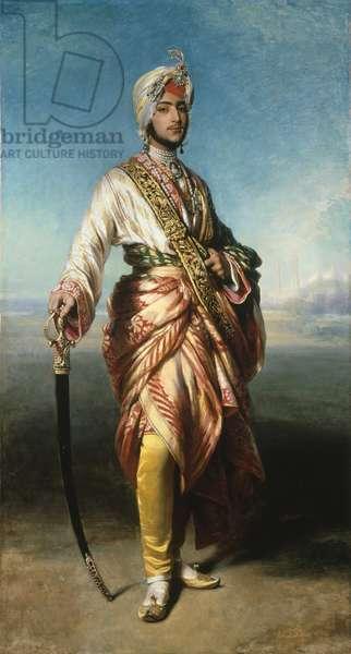 The Maharaja Dalip Singh, 1854 (oil on canvas)