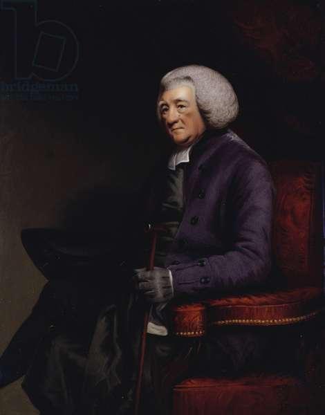 William Markham, Archbishop of York (after Hoppner), 1800 (enamel on copper)
