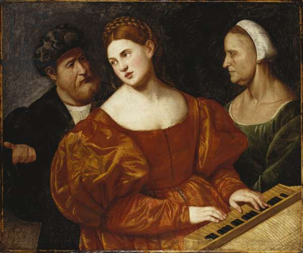 A Concert, c.1520-25 (oil on canvas)