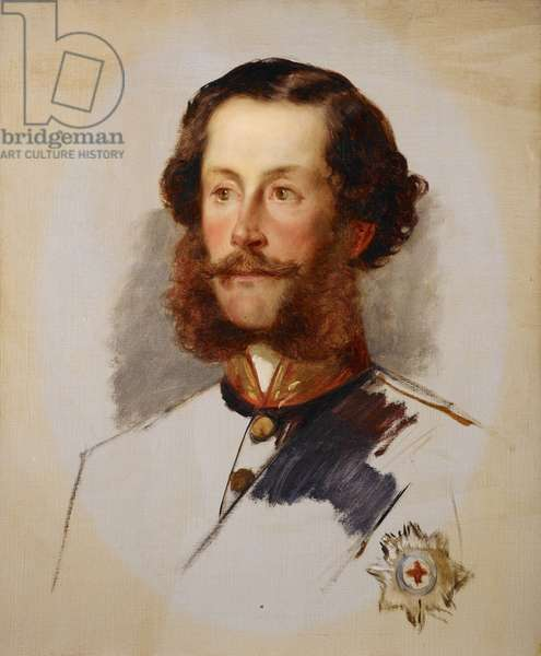 James Hamilton, 2nd Marquess, and later 1st Duke, of Abercorn, 1856 (oil on canvas)