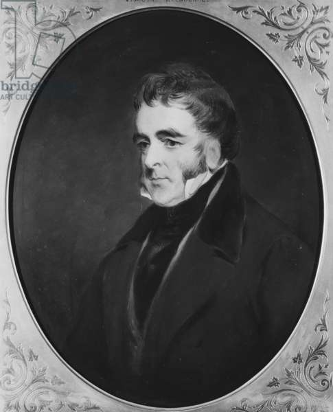 William Lamb, 2nd Viscount Melbourne, c.1865-70 (oil on panel)