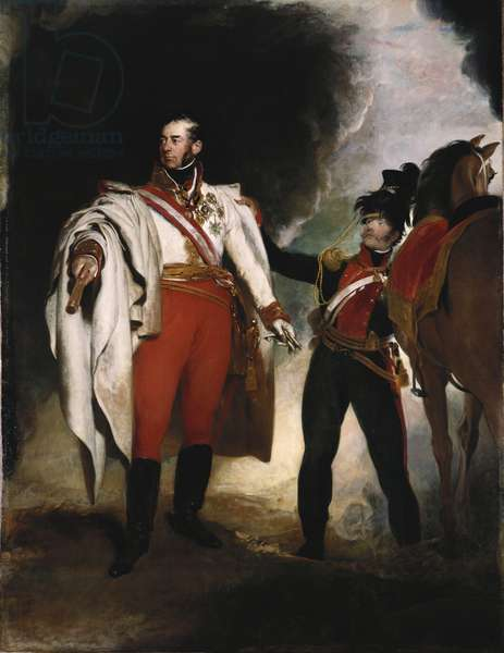 Carl Philip, Prince Schwarzenberg, 1819 (oil on canvas)