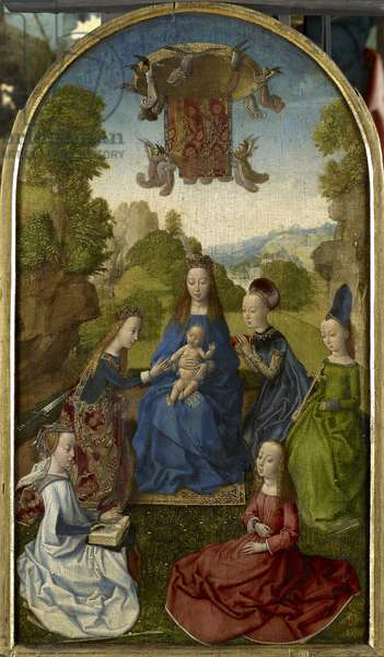 Virgin and Child with Saints, 1480s (oil on panel)