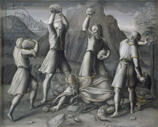 A Protestant Allegory, c.1538-44 (oil on panel)