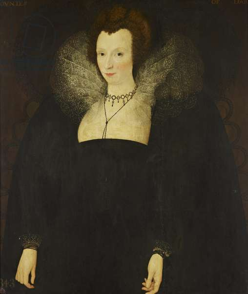 Alice Spencer, Countess of Derby, c.1580-90 (oil on panel)