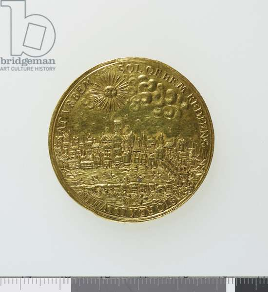 Medal commemorating the return of King Charles I to London after his coronation in Scotland, 1633 (gold) (reverse of 3706859)