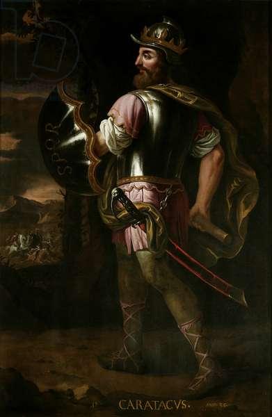 Caratacas, 1686 (oil on canvas)