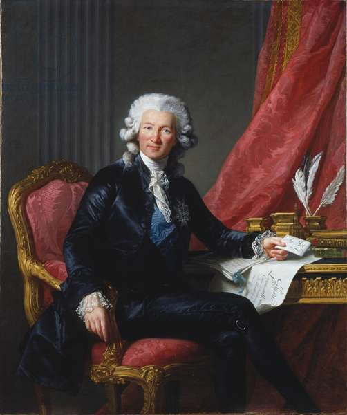 Charles-Alexandre de Calonne, 1784 (oil on canvas)
