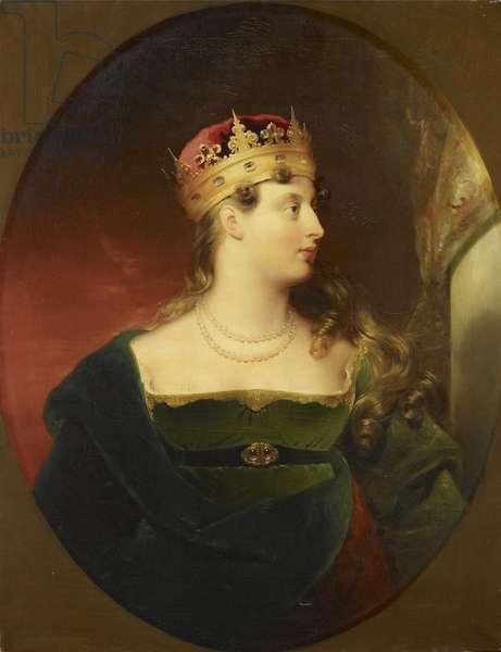 Princess Charlotte, c.1845 (oil on canvas)