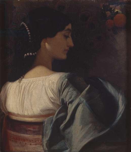 Nanna (Pavonia) 1859 (oil on canvas)
