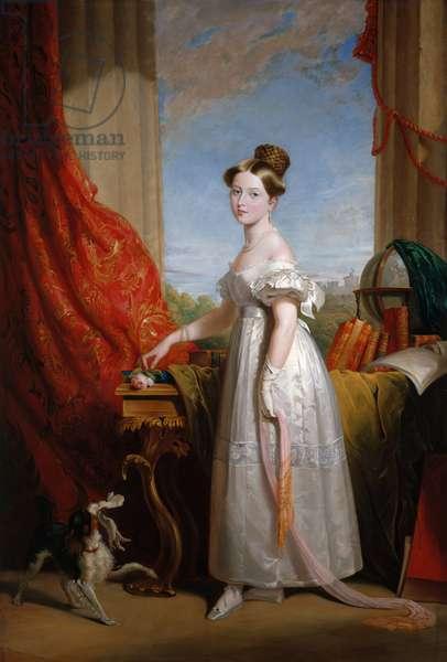 Queen Victoria when princess, c.1866-70 (oil on canvas)