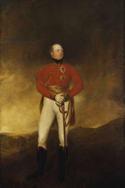 Adolphus, Duke of Cambridge, 1830 (oil on canvas)