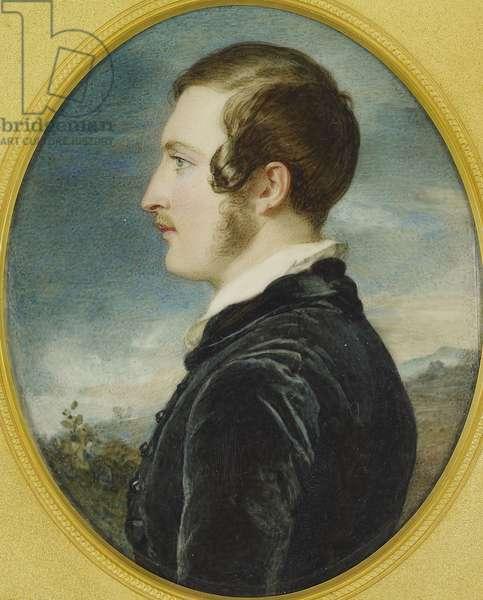 Prince Albert, 1839-40 (w/c on ivory laid on card)