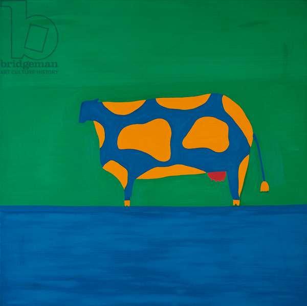 Cow,1998,(oil on linen)
