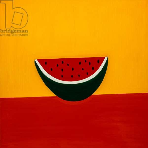 Watermelon,1998,(oil on linen)