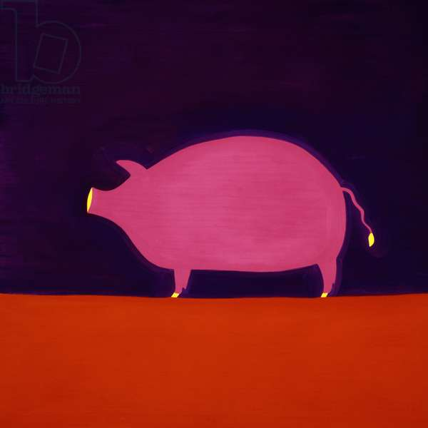 The Pig, 1998, (oil on linen)