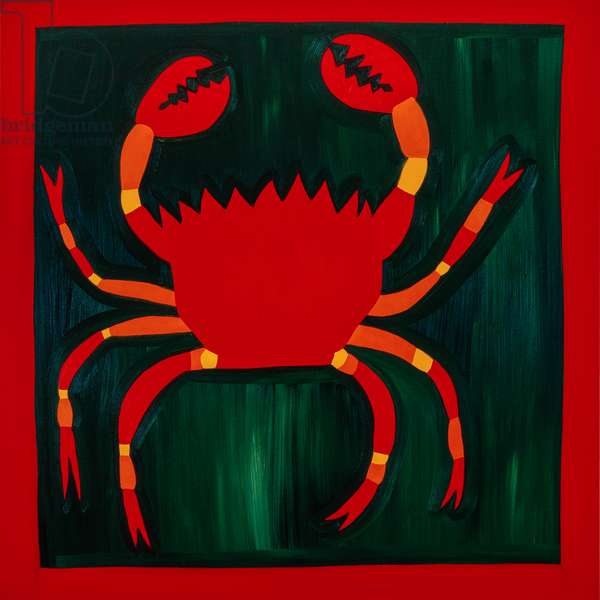 Crab,1998,(oil on linen)