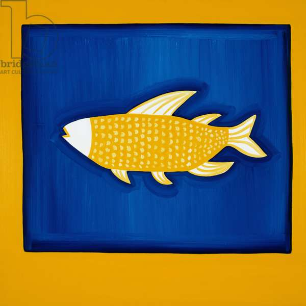 The Fish, 1998, (oil on linen)