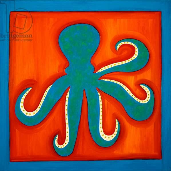 Octopus;1998,(oil on linen)