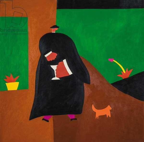 Monsignor;1996, (oil on linen)