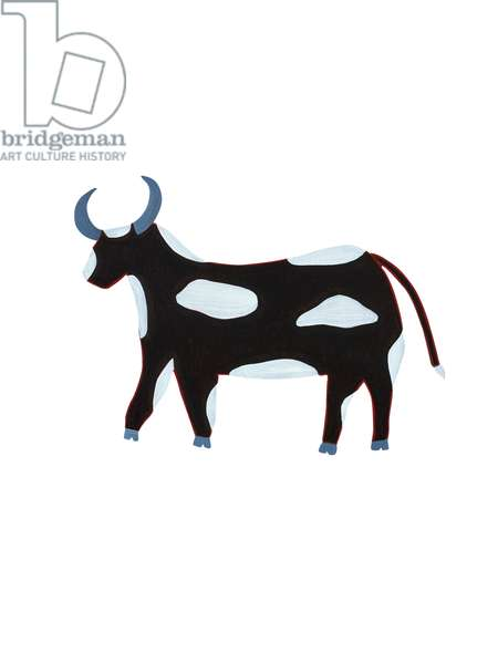 The Ox (Chinese Horoscope), 2009, (oil on birch plywood)