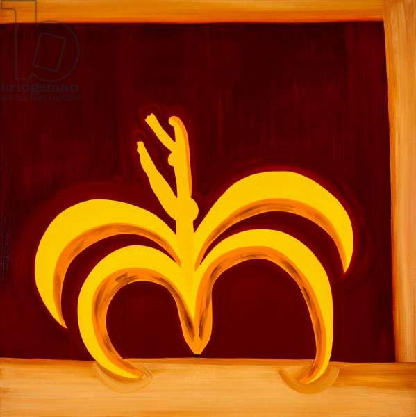 Banana,1998,(oil on linen)