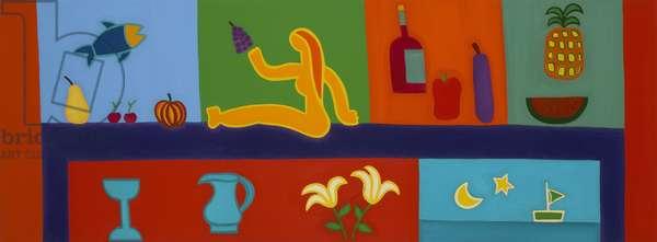 Still life, 2008, (oil on linen)