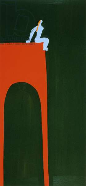 Still life, 1996, (oil on linen)