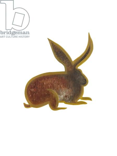 The Hare (Chinese Horoscope ), 2009, (oil on birch plywood)