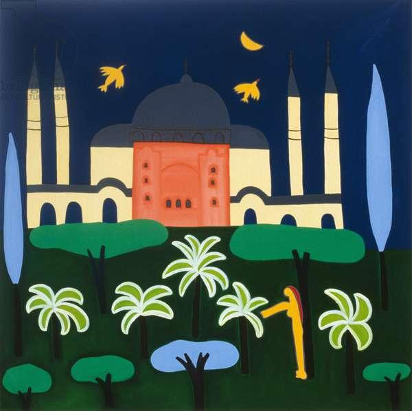 Still night, 2003, (oil in linen)