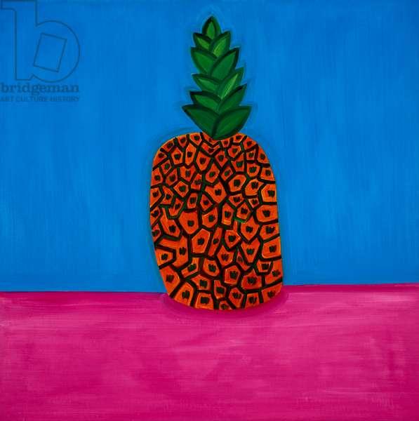 Pineapple,1998,(oil on linen)