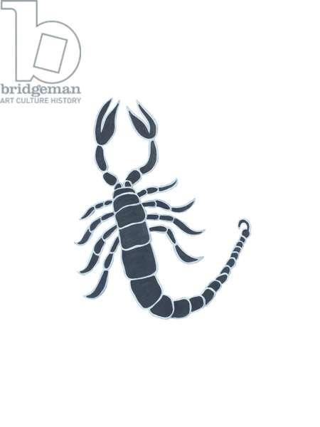 Scorpio (Signs of the Zodiac),2009, (oil on birch plywood)
