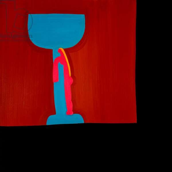 Glass,1998,(oil on linen)