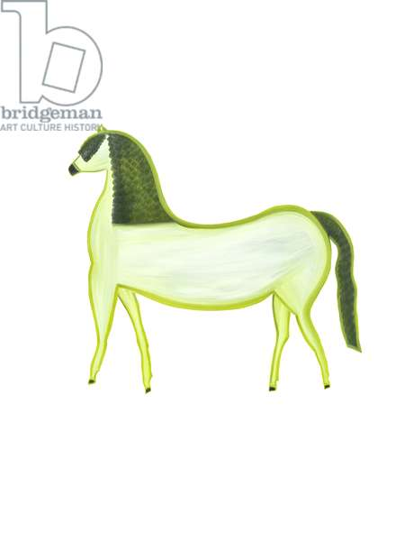 The Horse (Chinese Horoscope), 2009, (oil on birch plywood)