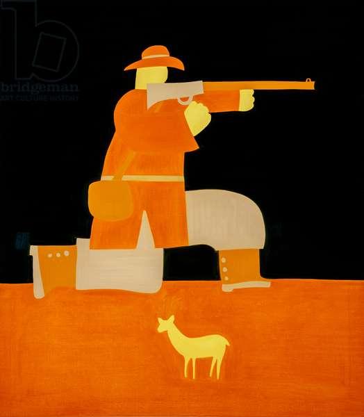 Hunter,1998,(oil on linen)